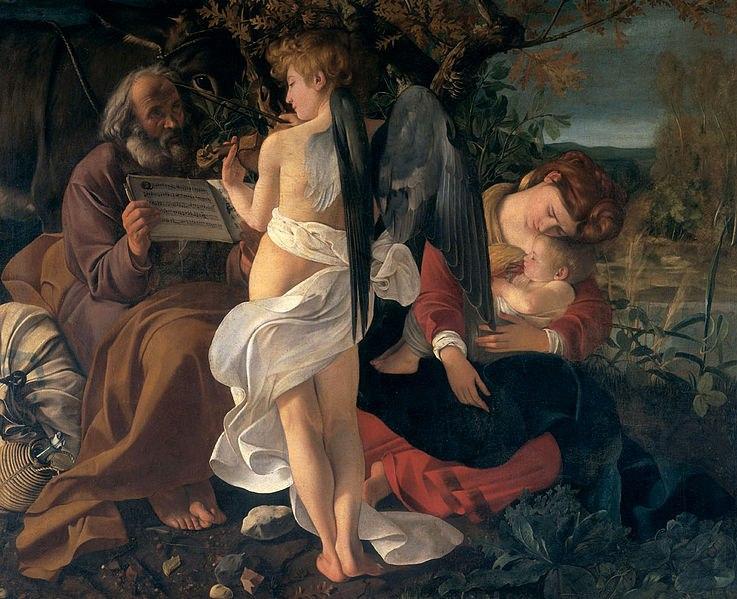 «Отдых на пути в Египет» (1597)