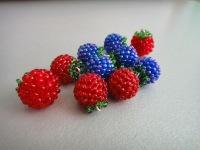 Украшения ручной работы.  Ярмарка Мастеров - ручная работа серьги-ягодки.  Handmade.