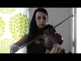 Manowar - The Crown and the Ring ( violin cover )