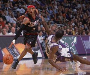 Айверсон супер дриблинг в НБА