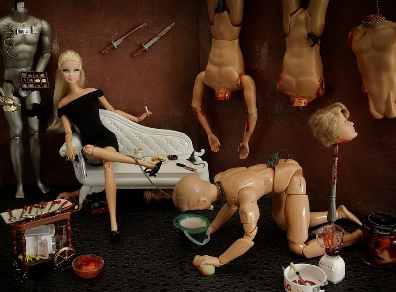 Видео секс кукол барби
