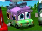 Финли Пожарная Машина  3с16с  Дом для кролика. Мультфильмы для детей