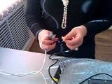 Светодиодный светильник Solaris LL-45p - пытка водой