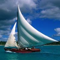 Яхта с парусом своими руками