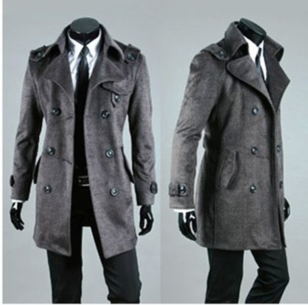 Описание: Мужские пальто Gap Classic Peacoat.  Автор: Мирдза.
