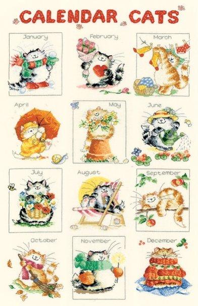 Кошачий Календарь /Calendar