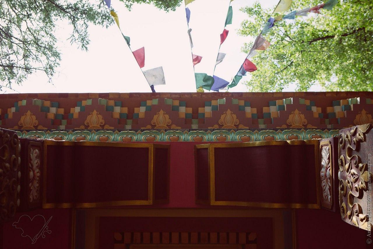 Буддийский храм в Санкт-Петербурге Дацан Гунзэчойнэй