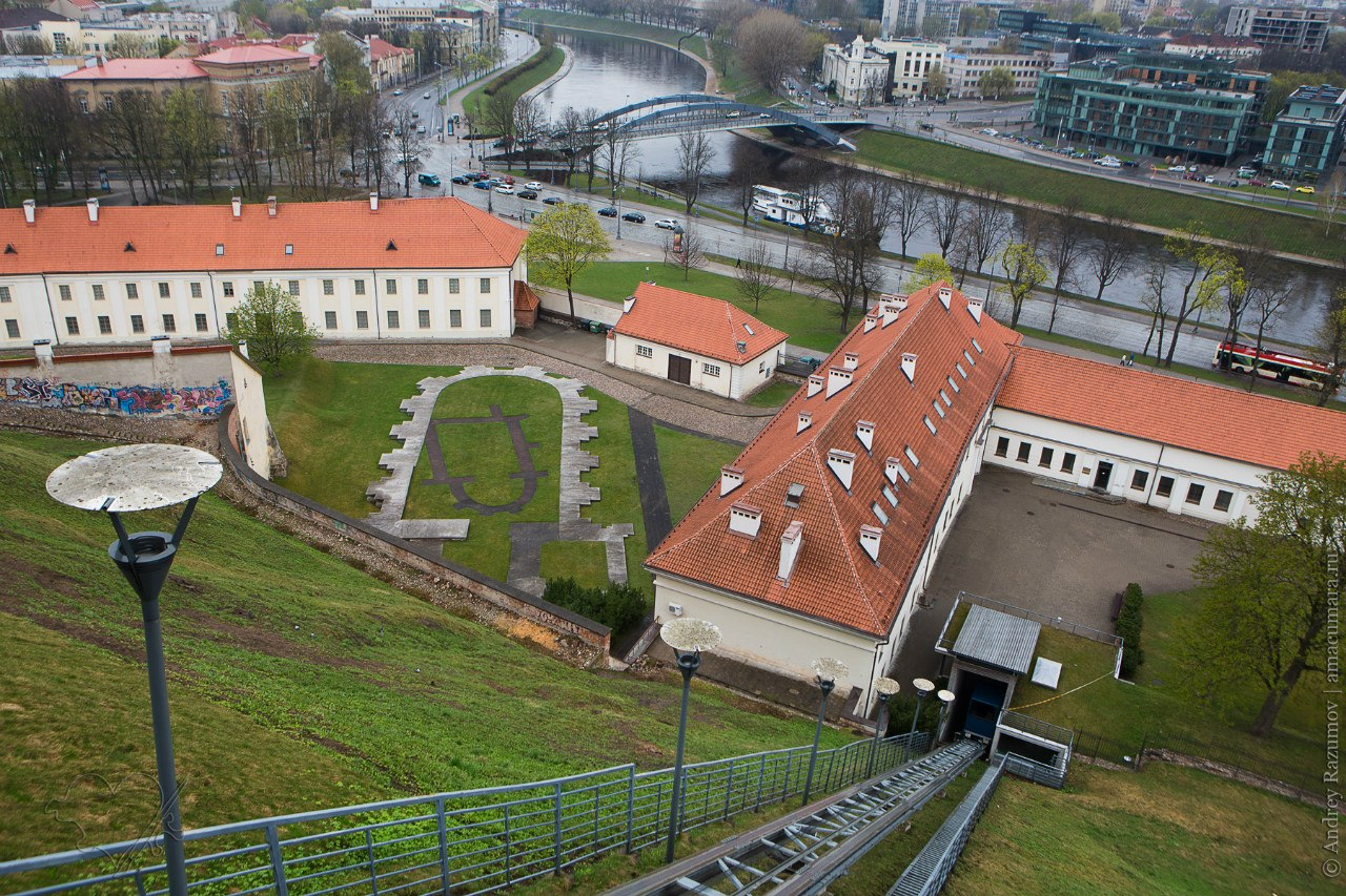 Фуникулер в Вильнюсе Горэлектротранспорт