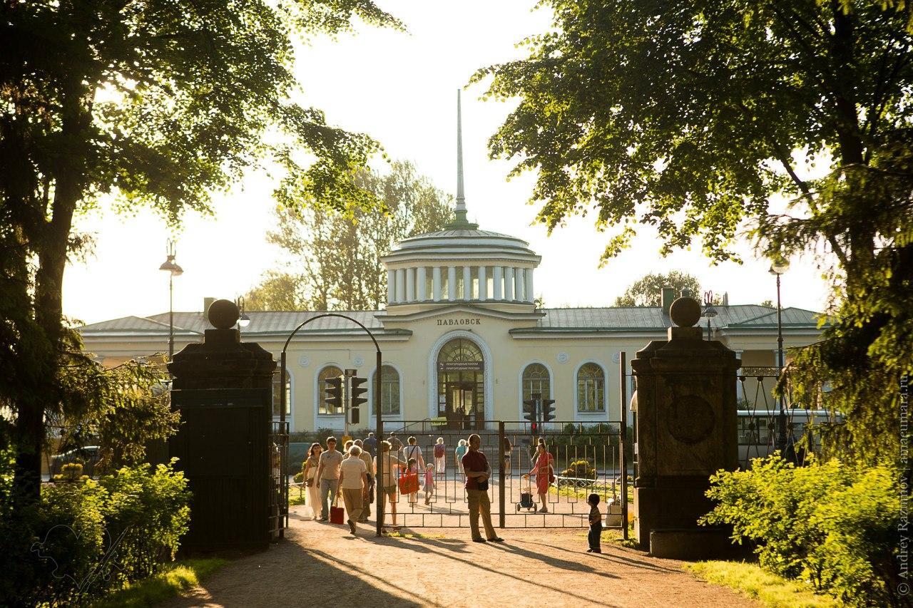 Павловск парк музей