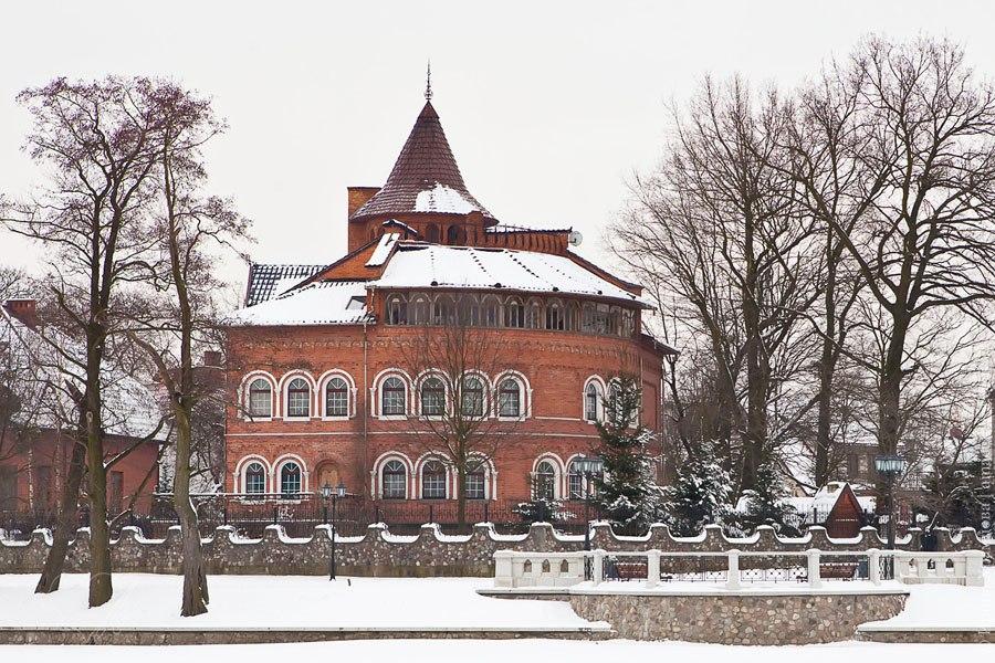 Калининград зимой Кенигсберг