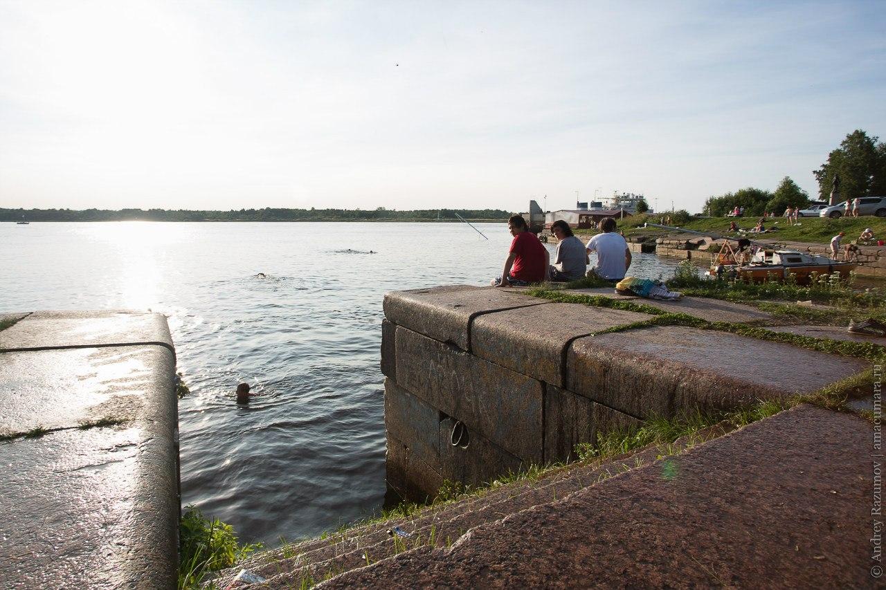Шлиссельбург ключ-город Нева Ладожское Петровский канал