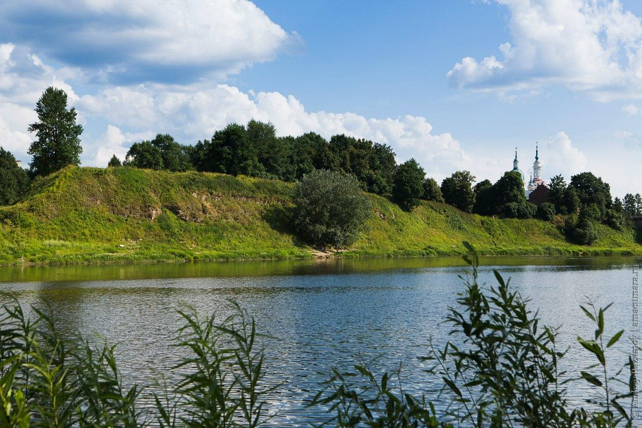 Кингисепп Ямбург река Луга