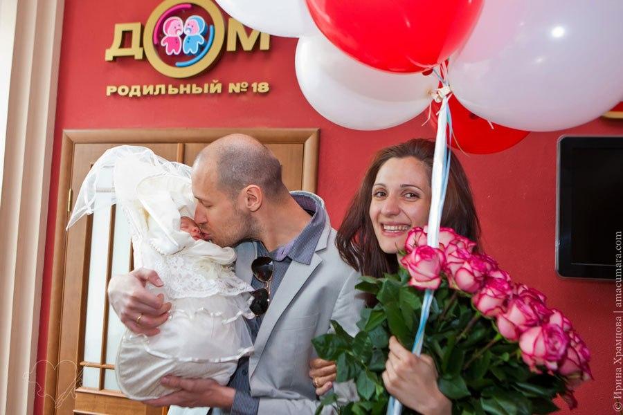фотограф в роддом Санкт-Петербург
