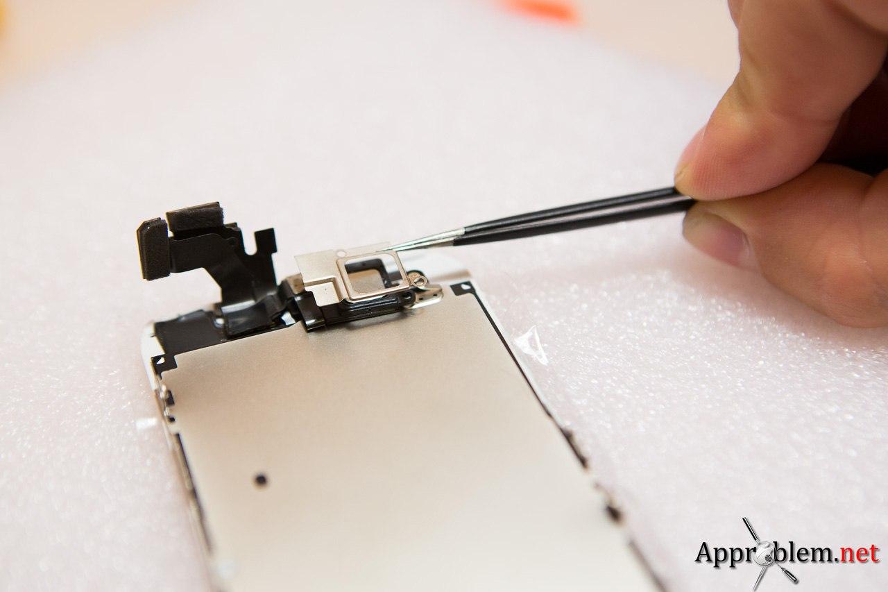 Замена разбитого стекла Apple iphone 5