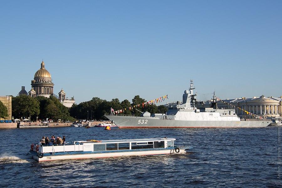 Подготовка к дню ВМФ Санкт-Петербург