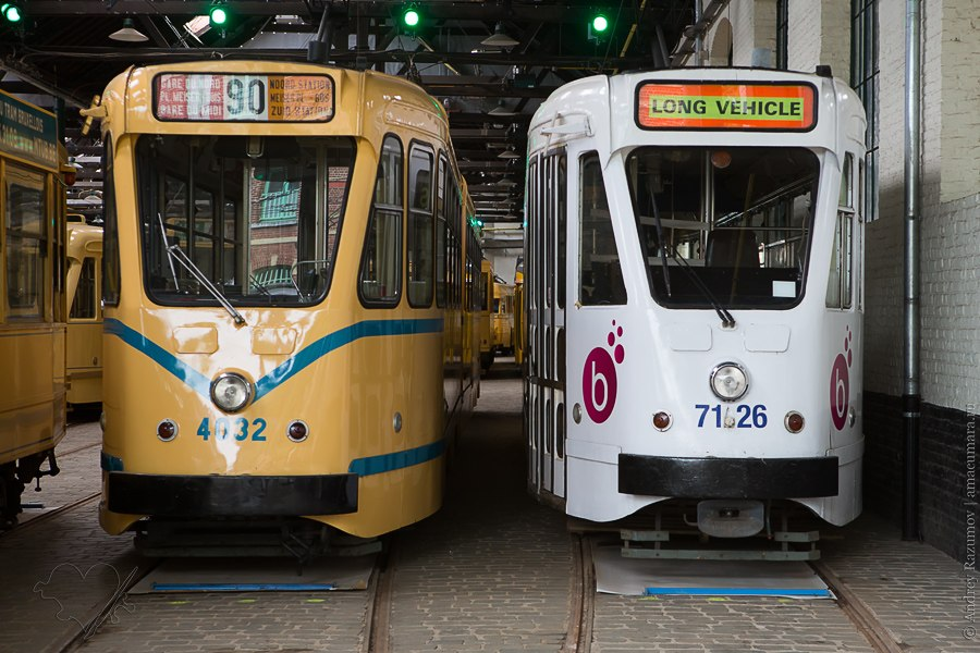 Бельгия Брюссель музей трамваев