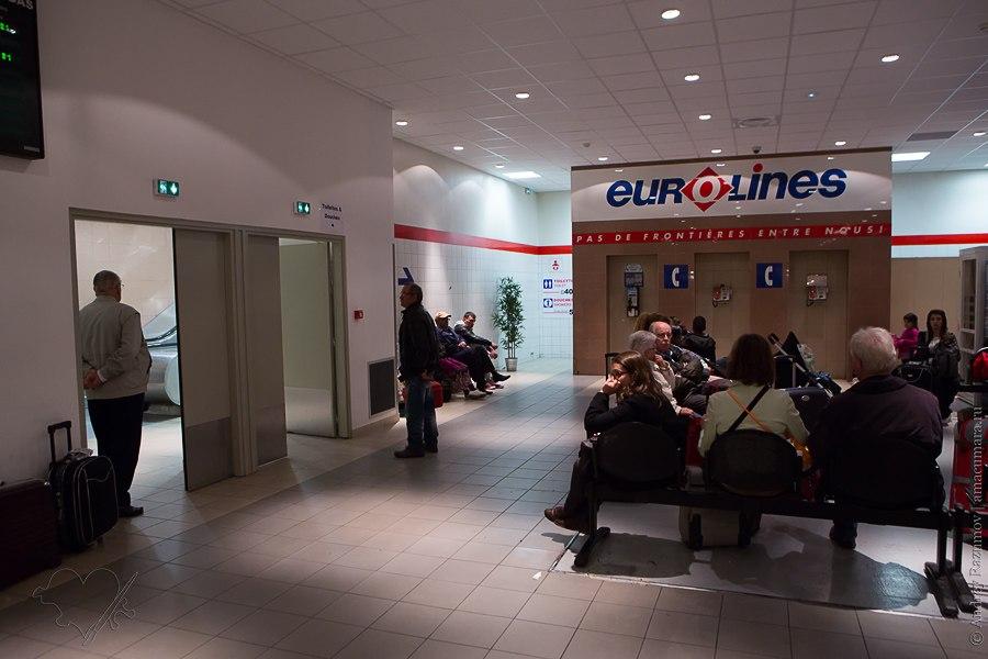Eurolines в Париже как добраться до Брюсселя