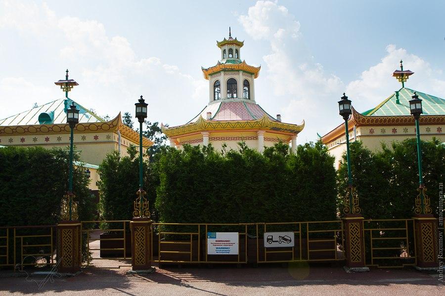 Китайская деревня Пушкин Александровский парк