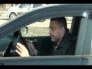Авто прикол - Блондинка за Рулем машины! осторожно!
