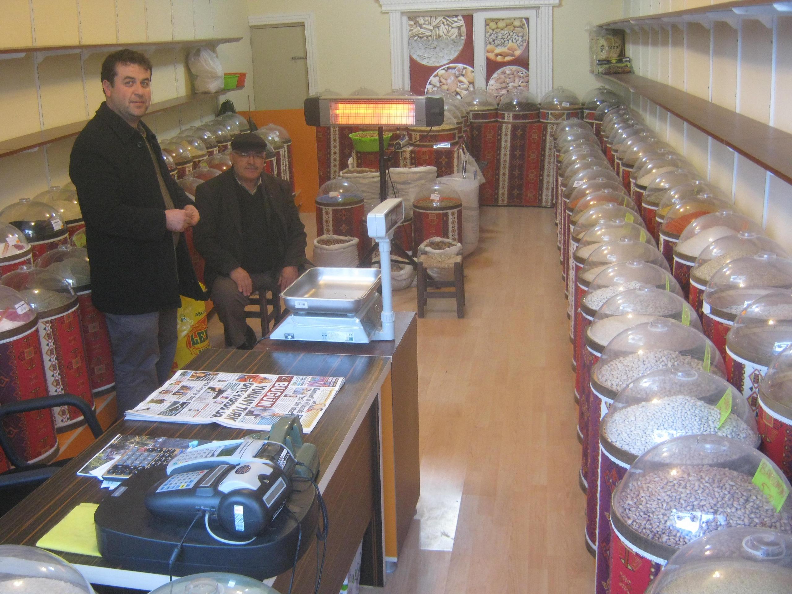Магазин в турецком городе