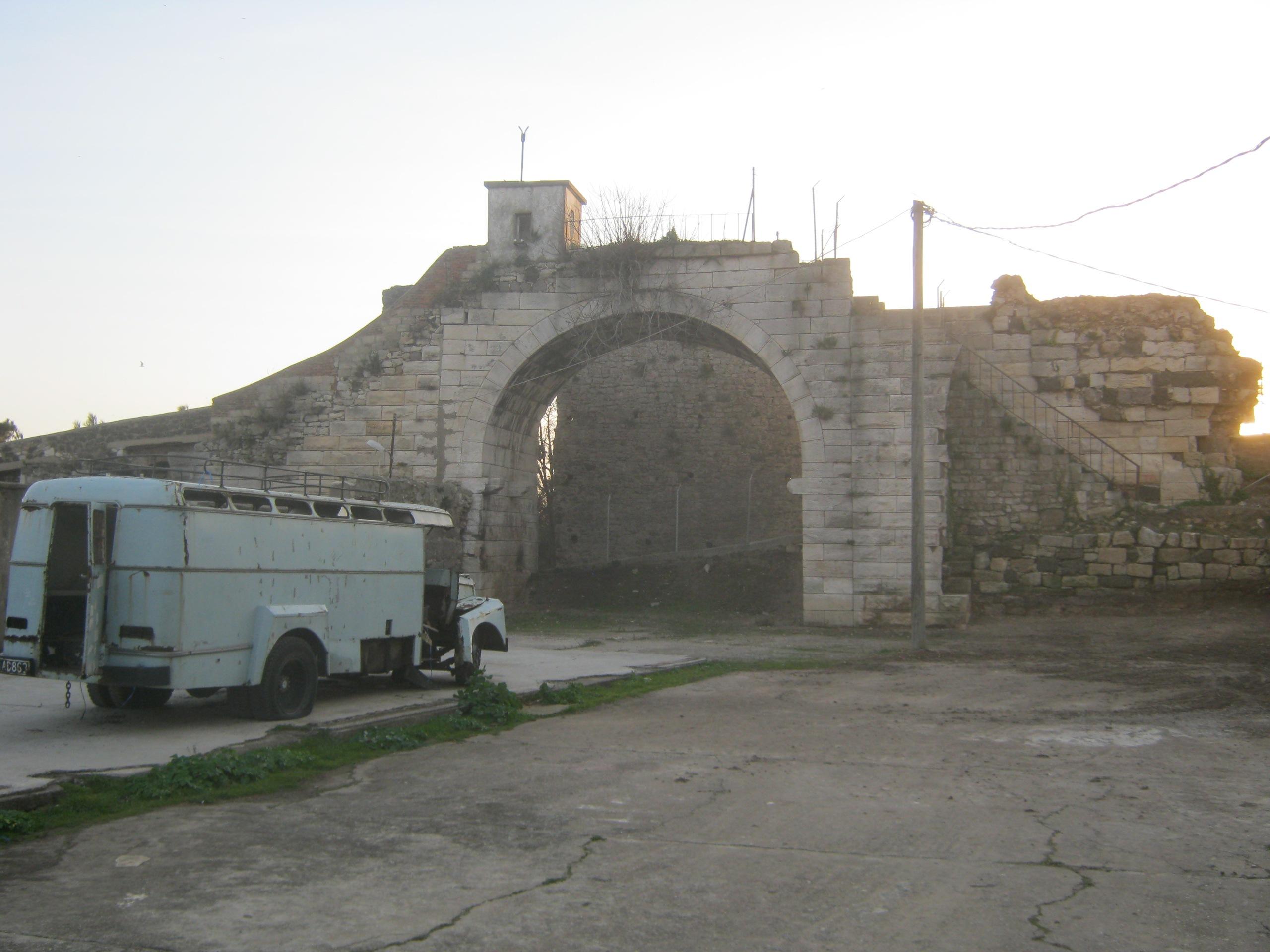 Старинная тюрьма в Синопе