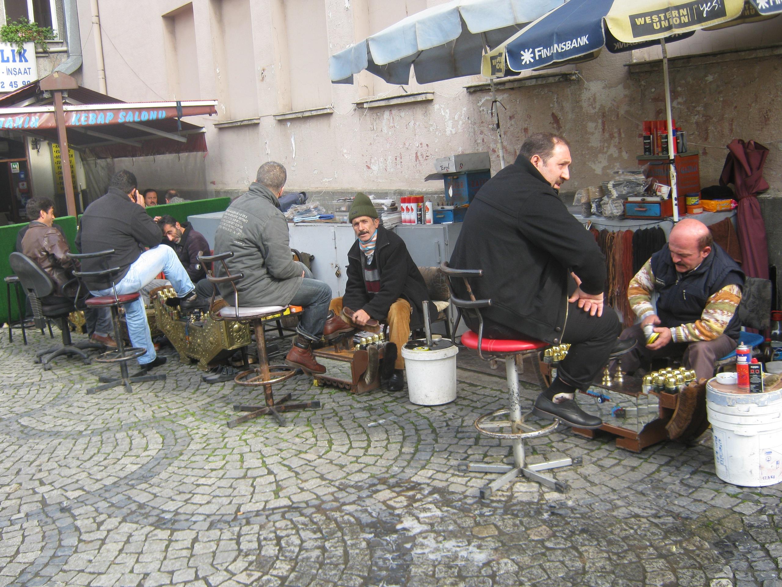 Чистильщики обуви в Турции