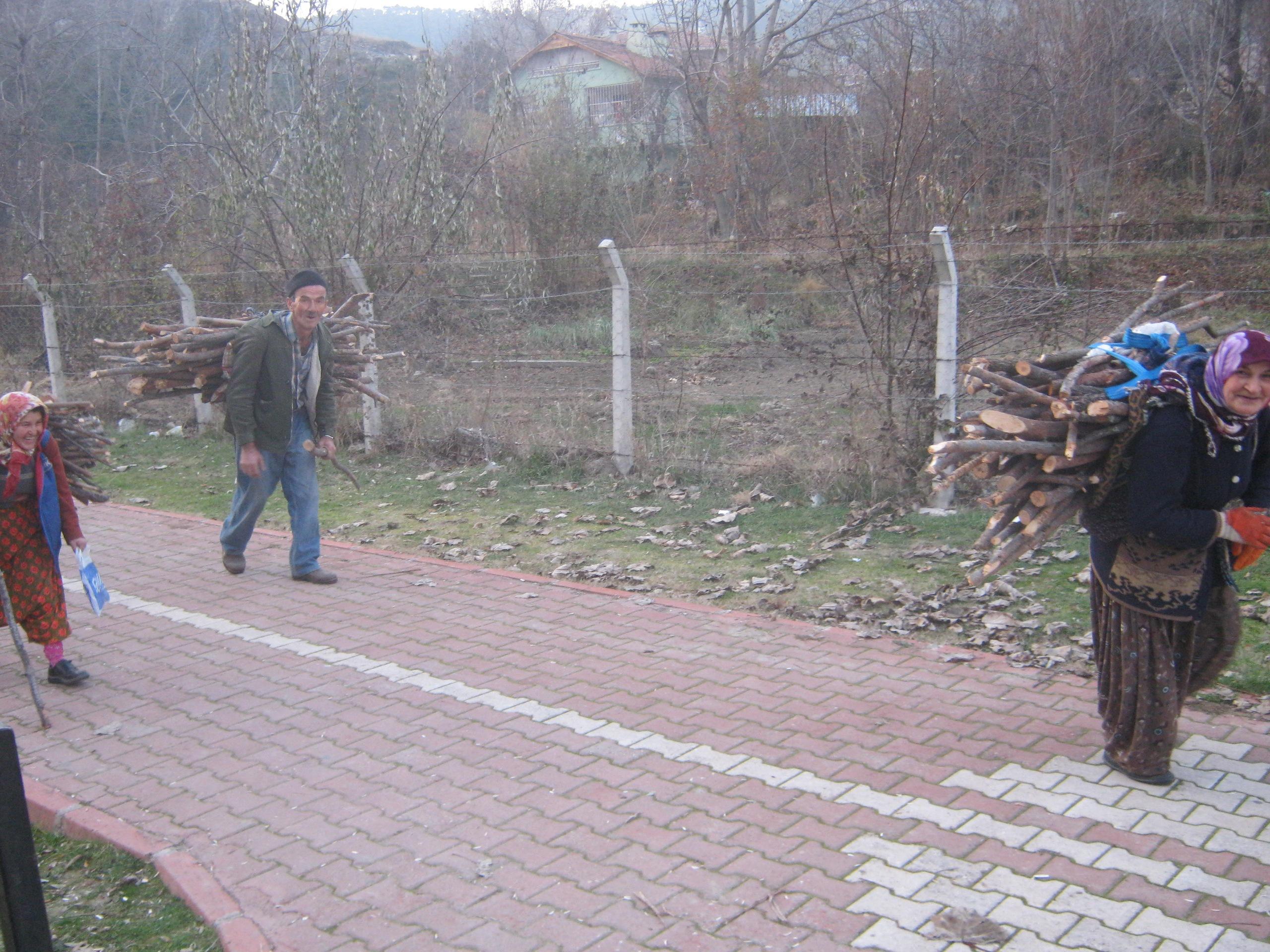 Народ в Турции работящий