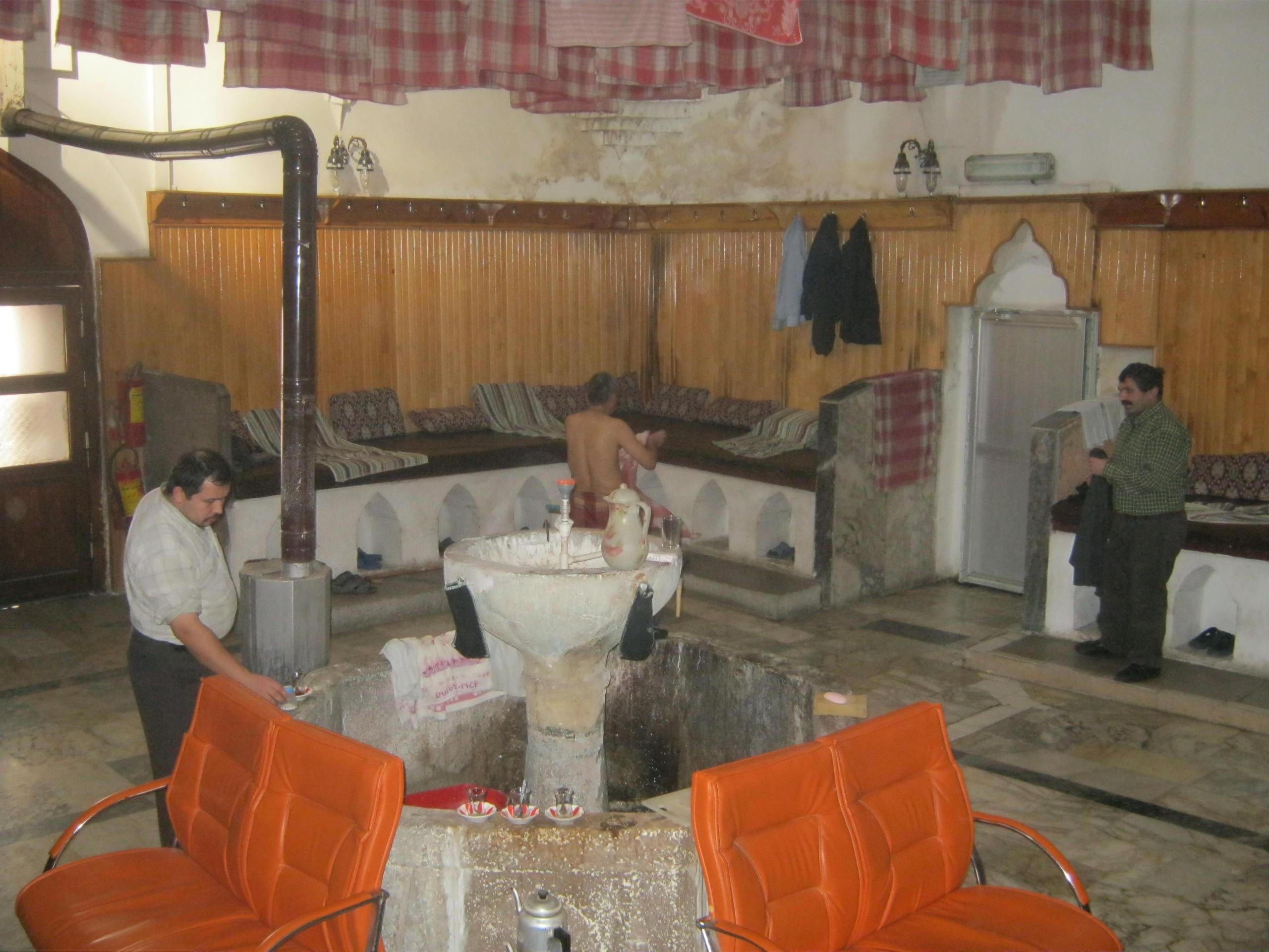 Старинные бани в Турции