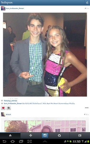 кэмерон бойс и его девушка фото