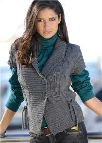 вязание спицами мужских кофт | Для женщин