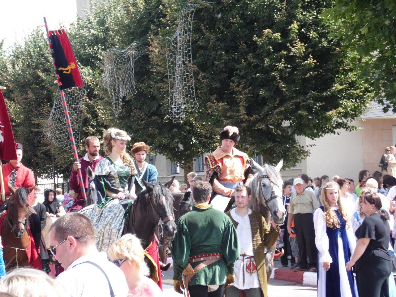 Рыцарскі фэст у Мсціславе 2013 года ў фотаздымках