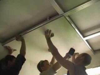 Онлайн видео Монтаж потолков из гипсокартона.  Вы можете посмотреть этот фильм чтобы убедиться в его высоком качестве.
