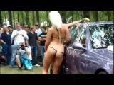 Bikini Car Wash-Sexy Girls Dancing Washing Car-Bikini Hand Car Wash