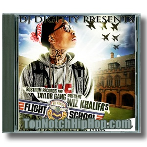 Wiz Khalifa,Chevy Woods,Taylor Gang - Dj Digitty Presentsflight School-all Wiz Khalifa Mixtape