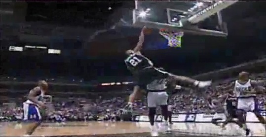 Tim Duncan Best Alley Oop