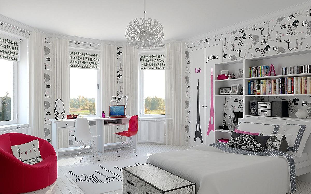 Интерьер комната для девочки подростка 15 лет