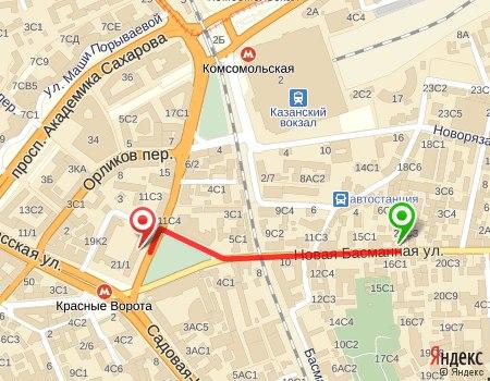 Отмечено на карте: