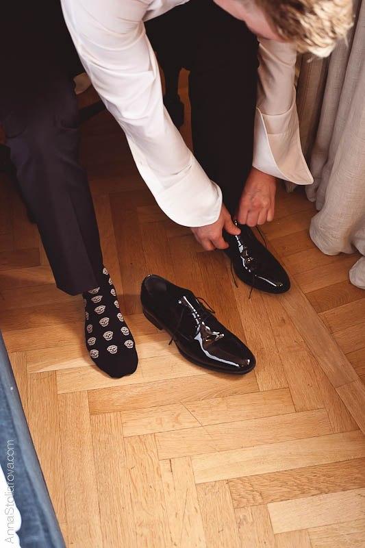 цветные носки на свадьбу