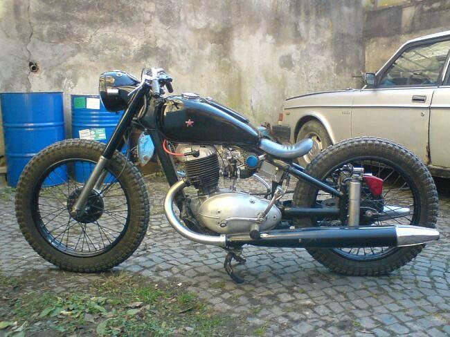 HO common: реставрация мотоцикл иж-49