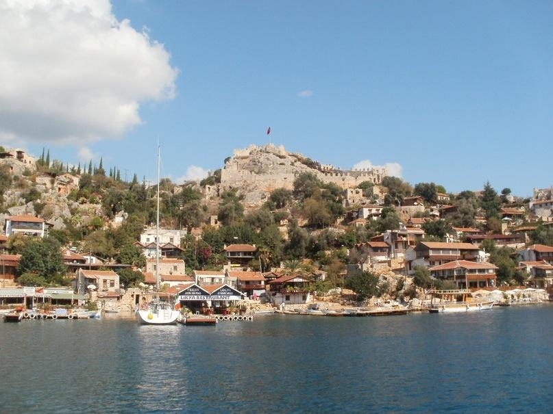 Мои путешествия. Елена Руденко. Турция. Средиземное море. Экскурсия на яхте.  2011 г.  Y_037bcd0f