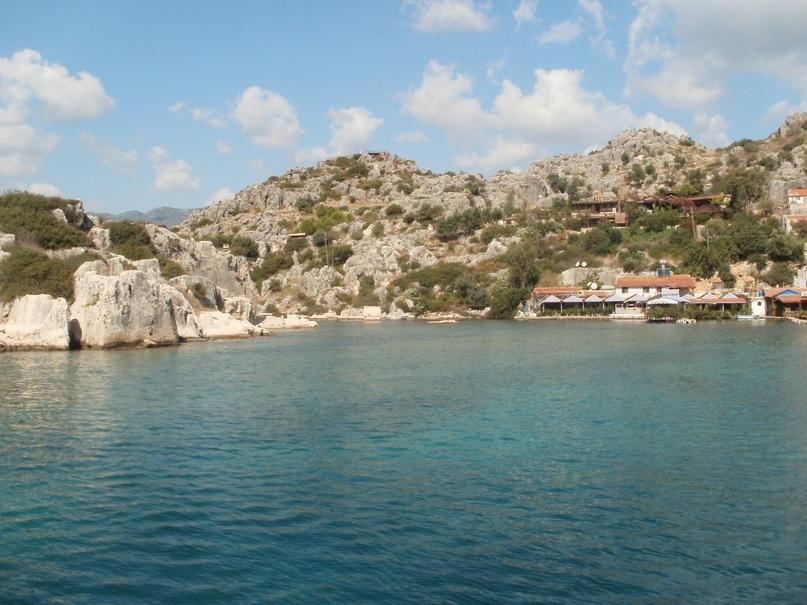 Мои путешествия. Елена Руденко. Турция. Средиземное море. Экскурсия на яхте.  2011 г.  Y_13b09a1f