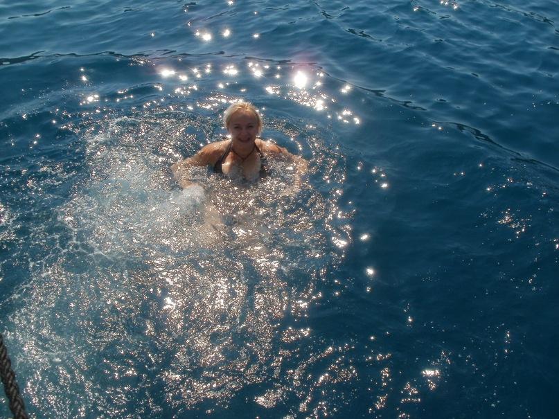 Мои путешествия. Елена Руденко. Турция. Средиземное море. Экскурсия на яхте.  2011 г.  Y_2bdd005e