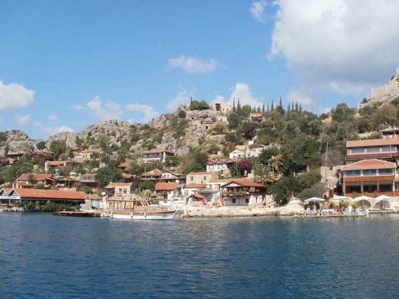 Мои путешествия. Елена Руденко. Турция. Средиземное море. Экскурсия на яхте.  2011 г.  Y_30ddd059