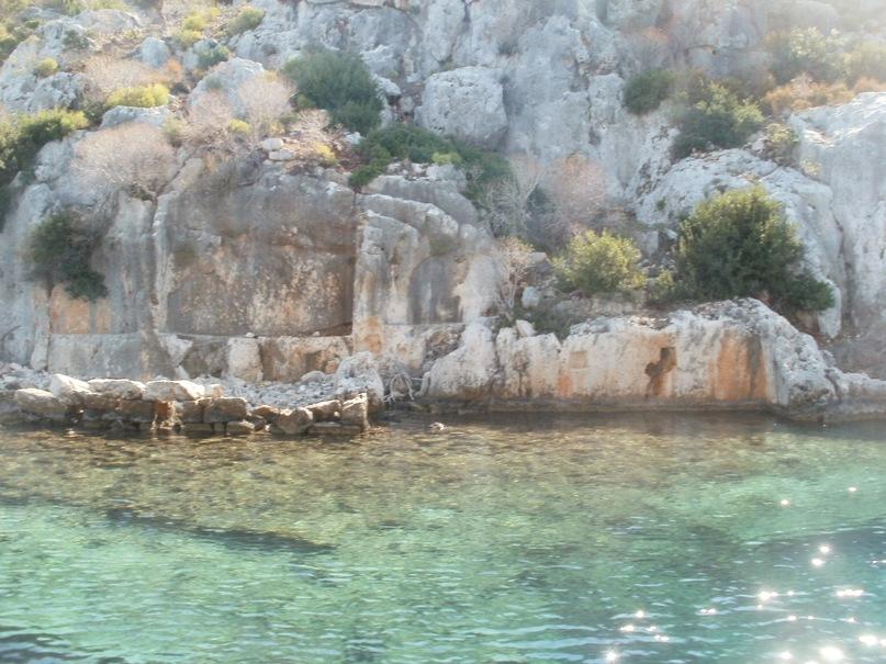 Мои путешествия. Елена Руденко. Турция. Средиземное море. Экскурсия на яхте.  2011 г.  Y_3ce91d13