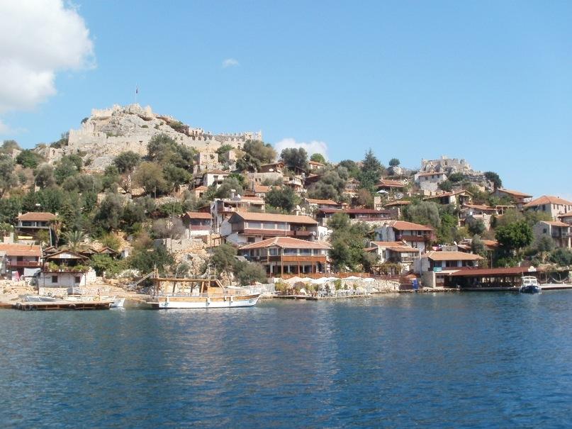 Мои путешествия. Елена Руденко. Турция. Средиземное море. Экскурсия на яхте.  2011 г.  Y_42eac4b1