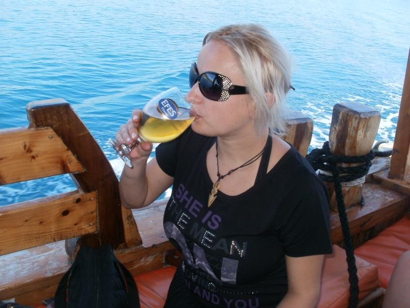 Мои путешествия. Елена Руденко. Турция. Средиземное море. Экскурсия на яхте.  2011 г.  Y_65d9b530