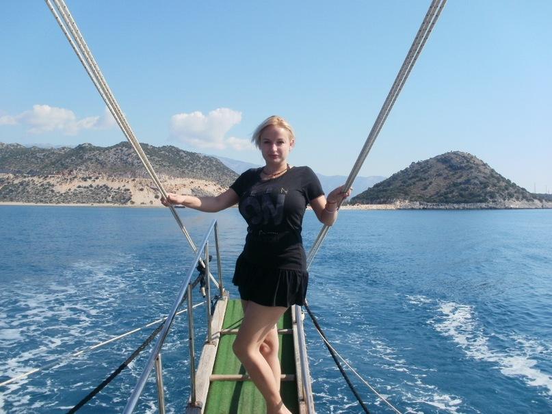 Мои путешествия. Елена Руденко. Турция. Средиземное море. Экскурсия на яхте.  2011 г.  Y_69d57b87