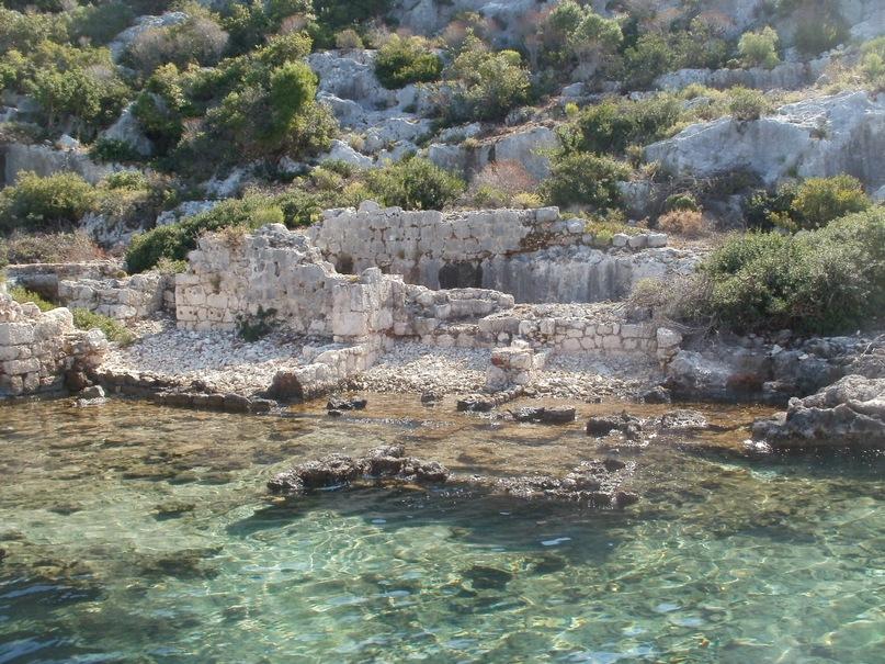 Мои путешествия. Елена Руденко. Турция. Средиземное море. Экскурсия на яхте.  2011 г.  Y_9cbbc15a