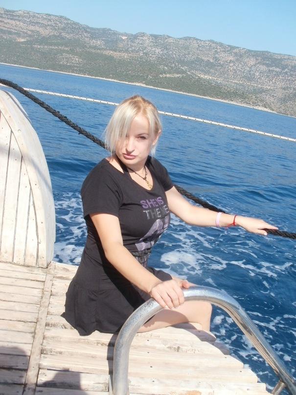 Мои путешествия. Елена Руденко. Турция. Средиземное море. Экскурсия на яхте.  2011 г.  Y_a1872aab