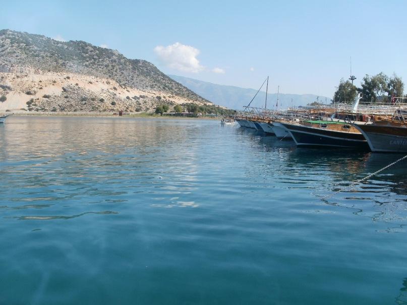 Мои путешествия. Елена Руденко. Турция. Средиземное море. Экскурсия на яхте.  2011 г.  Y_b3d26822